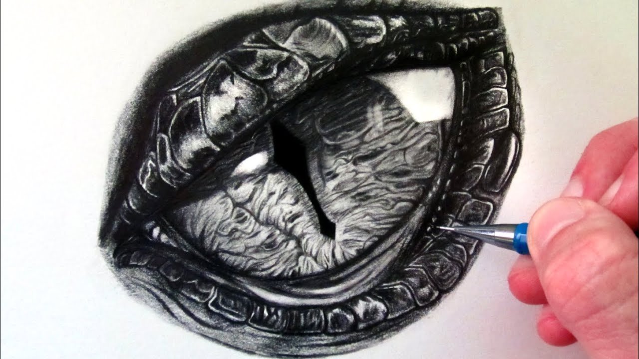 How To Eat Fried Worms How To Draw A Dragon Eye #howtodraw #dragoneye How