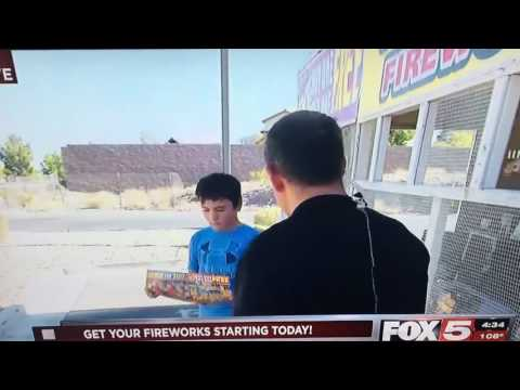 Reporter Asks Kid About Fireworks