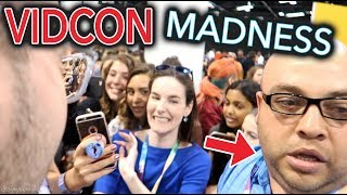 Video I DIDN'T GET KICKED OUT OF VIDCON *not clickbait* | Simply Nailogical goes to VidCon 2017 MP3, 3GP, MP4, WEBM, AVI, FLV Desember 2017