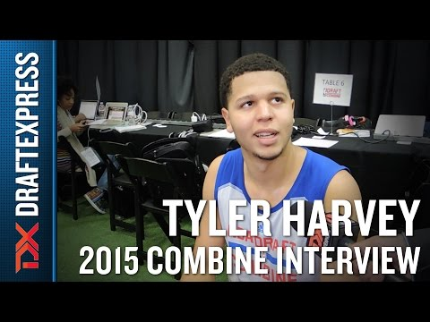 Tyler Harvey 2015 NBA Draft Combine Interview