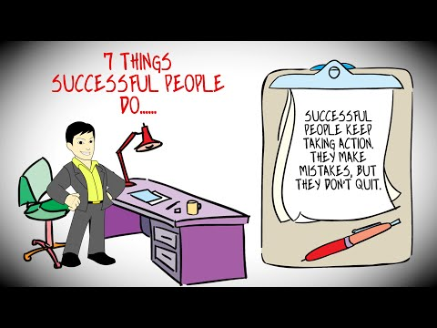 7 Things Successful People Do That They'll Never Tell You