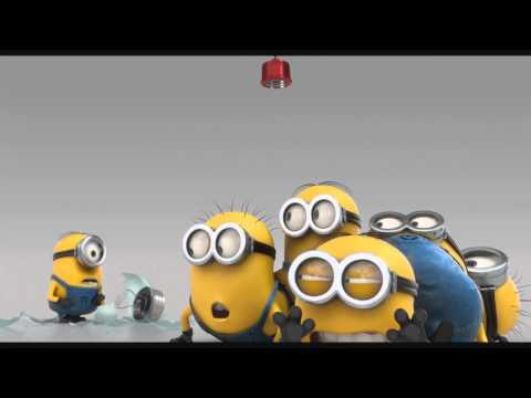 minions - cow cup, the stars are brighter, evil minion animation test