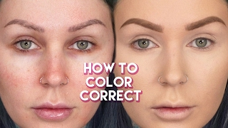How to Color Correct & Cover Dark Circles! | KristenLeanneStyle