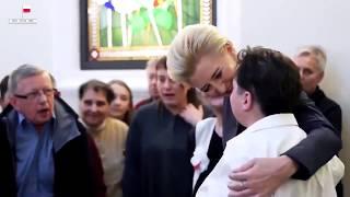 TVP ociepla wizerunek pierwszej damy i robi spot.