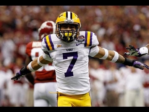 Mathieu - Tyrann Mathieu was kicked off of LSU's football team a year ago. He has been out of football for a year and is entering the draft this april!