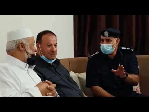 قيادة شرطة محافظة غزة تستقبل لجنة الأمن في المجلس التشريعي للاطّلاع على سير العمل