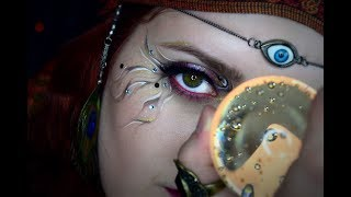 Fortune Teller | Halloween Makeup Tutorial | AJ Kane