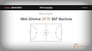 Nbit Gliwice vs BSF Bochnia (17 kolejka) - skrót