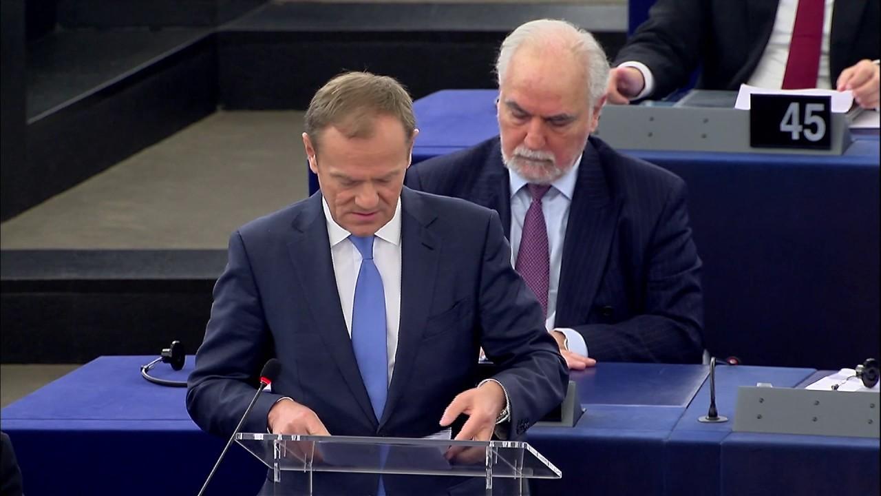 Τουσκ: Η Ε.Ε. δεν θα εκφοβιστεί από τη Βρετανία