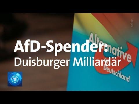 Geheime AfD-Spenden: Spur führt zu Duisburger Milliardär