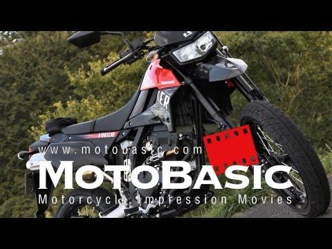 カワサキ D-TRACKER X バイク試乗レビュー Kawasaki D-TRACKER X (KLX250SF) REVIEW