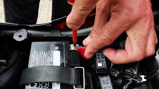 8. Honda CB500F - Battery Replacement