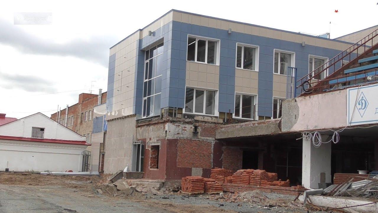 В Ижевске приступили к реконструкции стадиона «Динамо»