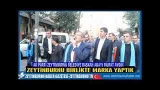 Başkan Murat Aydın Yenidoğan Mahallesindeydi