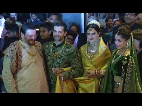 Neil Nitin Mukesh And Rukmini Sahay Wedding Recept