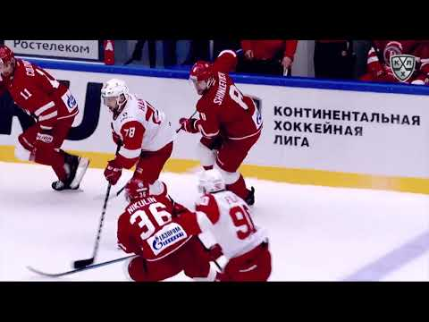 18/19 KHL Top 10 Goals for Week 2 (видео)