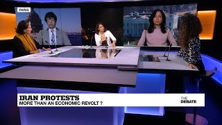 Geneive Abdo debates the root causes of the Iran protests with distinguished panel on France 24