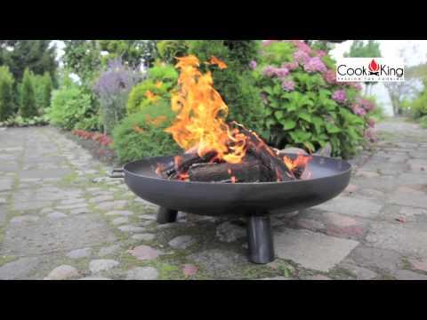 www.CookKing.pl - Feuerschale Bali + Schwenkgrill - DE