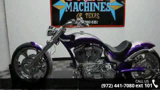 6. 2007 American IronHorse Slammer  - Dream Machines of Texa...