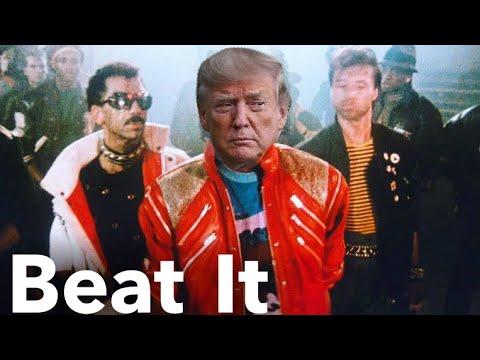 "Trump Sings ""Beat It"" By Michael Jackson"