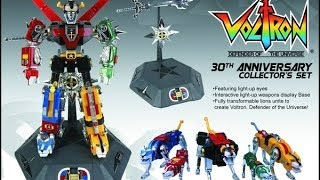 Video Toynami 30th Anniversary Voltron Collector's set diecast robot review MP3, 3GP, MP4, WEBM, AVI, FLV Agustus 2019