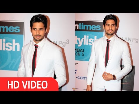 Sidharth Malhotra At HT Mumbai's Most Stylist Awards