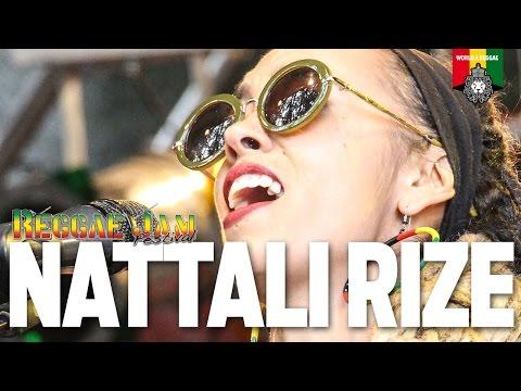 Nattali Rize Live at Reggae Jam 2016