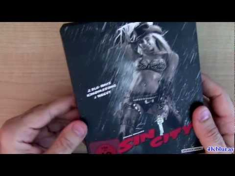 Sin City STEELBOOK Blu-ray Unboxing Review Germany Import With Poster