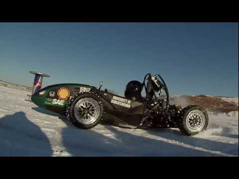 FSAE Ice Racing Promo Huskie Motorsports U of S