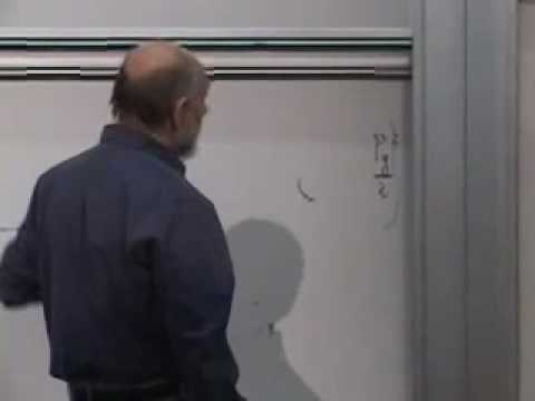 Mechanics - Lecture 1 of Leonard Susskind's Modern Physics course concentrating on Classical Mechanics. Recorded October 15, 2007 at Stanford University. This Stanford C...