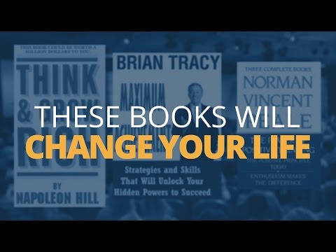 3 Books That Changed My Life – Top Self Development Books
