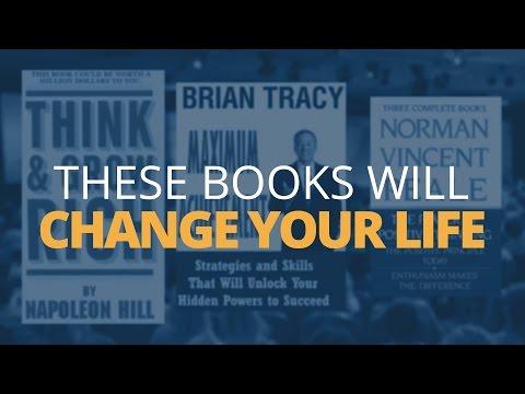 3 Books That Changed My Life – Top Self Development Books