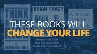 3 Books That Will Change Your Life - Top Personal Development Books