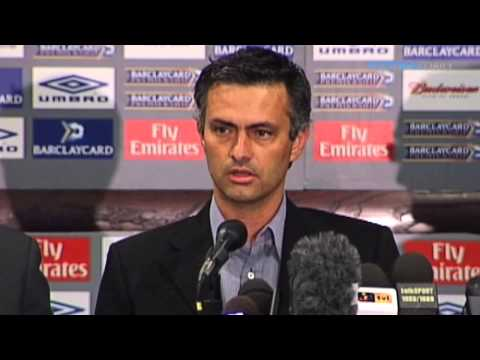 Mourinho's legendary moment: 'I am a Special One' (видео)