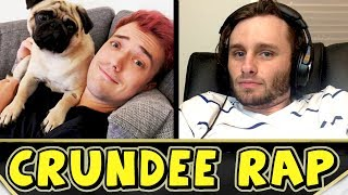 "►►► Enjoy The Video? Leave a Like & Subscribe! ◄◄◄ CRUNDEE RAP / SONG (Ssundee & MrCrainer) - 15,000 subscribers!So! you guys have been begging me for a rap based on Ssundee and also a rap based on MrCrainer! I've also had a lot of requests for Crundee, so I thought why not do it all and make a Crundee Rap / Song! a rap based totally on Ssundee and MrCrainer.It also features Ssundee's wife Maddie and Crainer's girlfriend Thea so I hope you enjoy their features too!Other than that, enjoy the Crundee Rap / Song and I hope you enjoy both Ssundee's and MrCrainer's individual parts!If you enjoy this feel free to share it around! after all you can make the great things happen for me as you have in the past! I can't express how much I appreciate you guys! I really mean that, your support is amazing. Without further ado, enjoy!FOLLOW ME: https://twitter.com/SGTTangoGamingCRUNDEE (Ssundee & MrCrainer) Instrumental used:""Reside""Instrumental by Homagehttps://www.youtube.com/user/homage253"