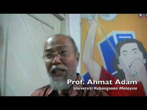 AJI Jakarta Discussion with Prof. Ahmat Adam