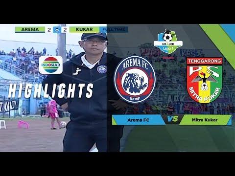 Download Video AREMA FC (2) Vs MITRA KUKAR (2) - Full Highlight | Go-Jek Liga 1 Bersama Bukalapak