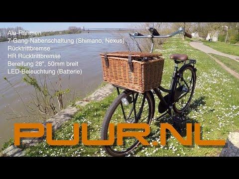 Das Hollandrad - Gazelle PUUR NL 7