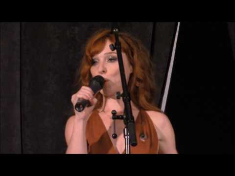 AtlCon Ruth Connell Singing These Boots Are Made For Walkin' W/ Kim, Misha & Sebastian