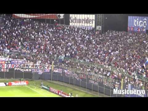 Video - Nacional 1 San Lorenzo 1 FINAL Salida del equipo. La hinchada está loca Ciclón - La Gloriosa Butteler - San Lorenzo - Argentina