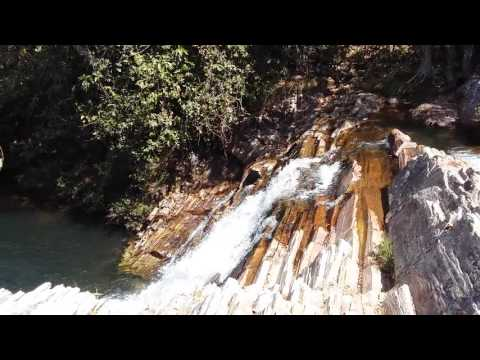 Cachoeira Goiás Brasil.  Parc dos Pireneus