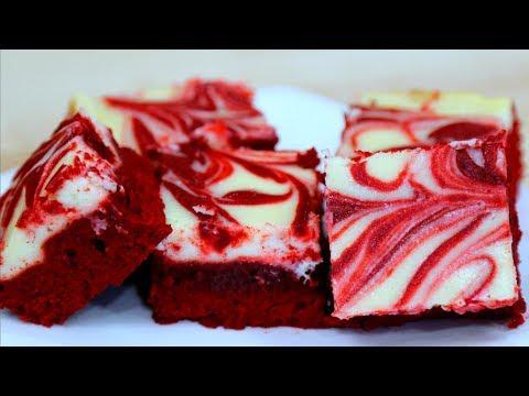 RED VELVET CHEESECAKE BROWNIES!