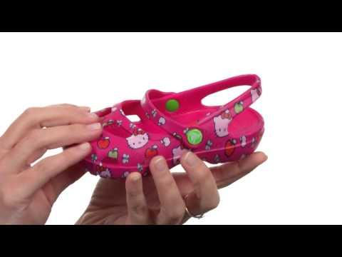 Crocs Kids Shayna Hello Kitty™ (Toddler/Little Kid) SKU:8476058
