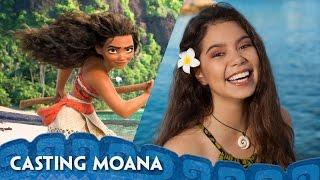 Casting Moana - Introducing Auli'i Cravalho Video