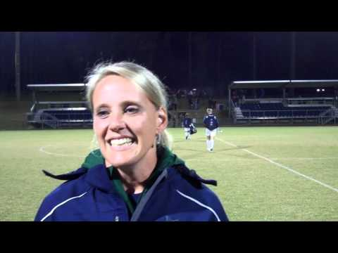 Hope Clark Postgame vs. Flagler 10/16