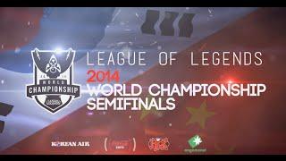 LoL Worlds Semi-Finals Hype Video