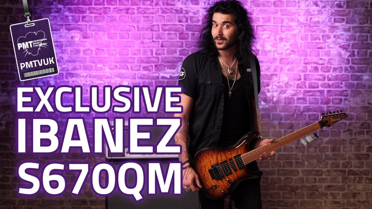 Ibanez S670QM Electric Guitar Demo and Review – PMT Exclusive