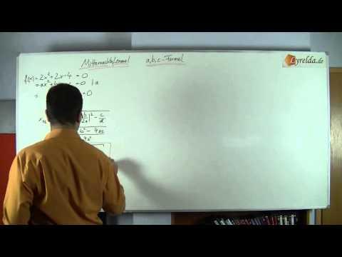 abc-Formel