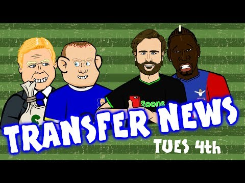 Rooney to Everton? Sakho to Palace? Sandro to Chelsea - still?  TRANSFER NEWS #12 July 4th