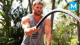 Video Insane THOR's Workout - Chris Hemsworth | Muscle Madness MP3, 3GP, MP4, WEBM, AVI, FLV Februari 2019